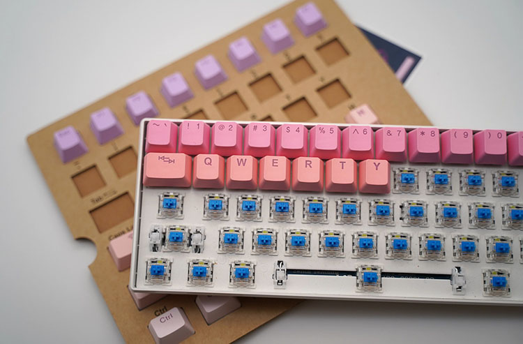 Mechanical Keyboards are great for Typists